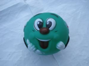 Green Smiley Ball